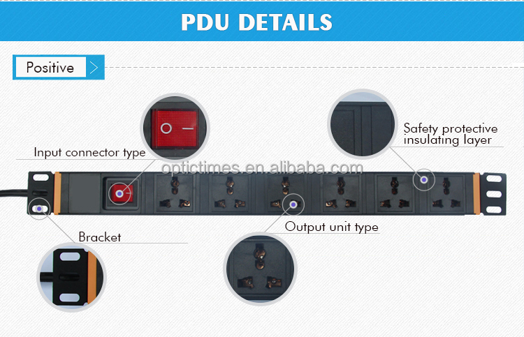Rack Pdu Power Distribution Unit Product India Socket Rack