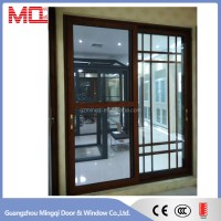 Grills Inside Sliding Glass Aluminium Doors And Windows ...