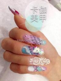 Kaga Nails & Spa 3d Gel Nail Art Nails 3d Design Nc26 ...