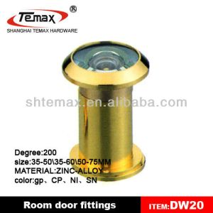 DW20 200 Degree Zinc Brass Door Eye Viewer