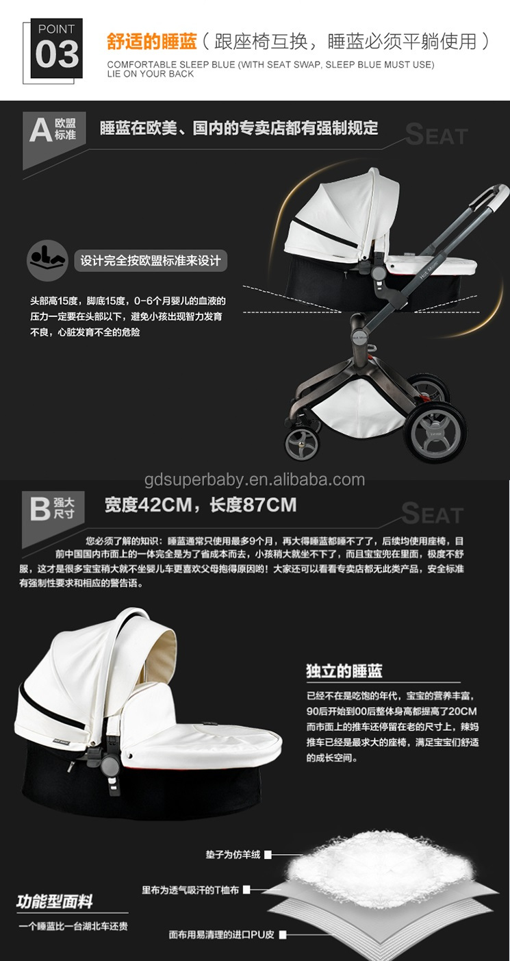 Egg Pram Replacement Wheels Hot Mom New Arrival Leather Baby Stroller Baby Car Four Wheels Egg Shape Baby Pram Trolley Black And White Stripe Buy Hot Mom Baby Stroller Leather