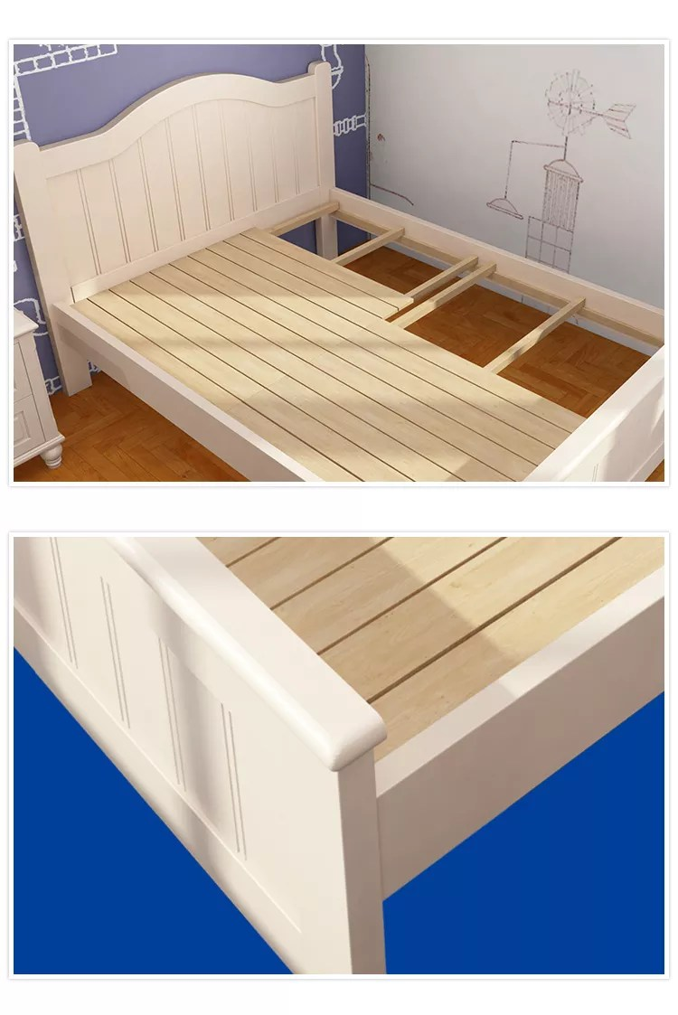 Double Beds Modern Design Storage Single Bed Wood White Double Beds Buy Double Bed Designs In Wood Single Beds For Sale Double Bed With Storage Product On