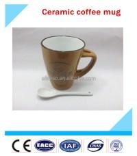 Ceramic Mug With Spoon,Cheap Coffee Mugs,Chinese Tea Mug ...