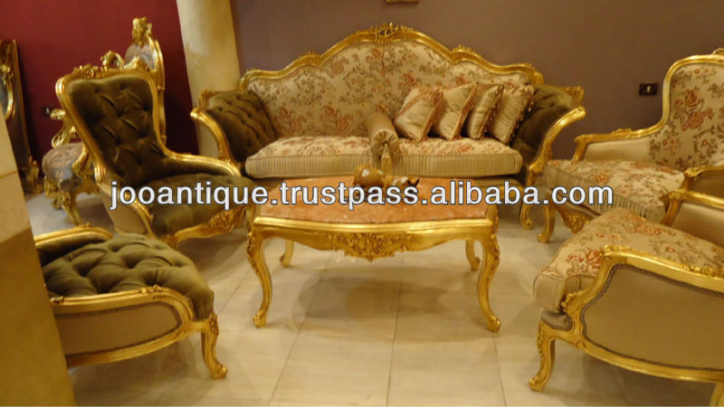 French Antique Living Room Sofa Set - Buy French Salon Living Room - antique living room sets