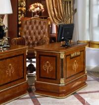 0038 Office Boss Table Boss Chair Luxury Office Furniture ...