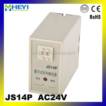 JS14P AC 24V time relay circuit super time relays, View time relay