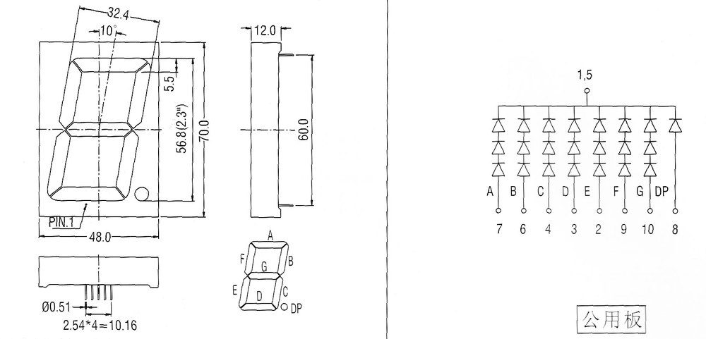 led display board circuit board view led display