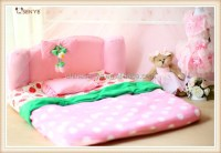 Cute Strawberry Dog Bed Sofa Bed Luxury Pet Dog Beds Large ...