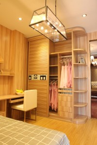 Living Room Cabinet Furniture Bookcase With Glass Doors