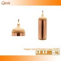 Vintage Pendant Light Decorative Copper Pendant Light With