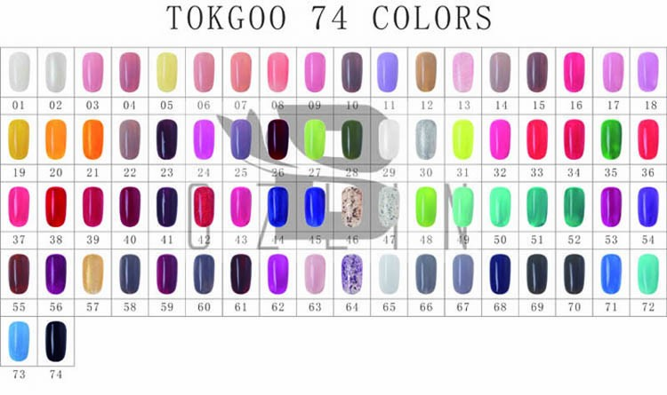 Brand Tokgoo Factory Free Sample Private Label Nail