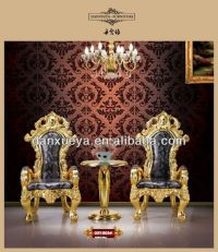 Antique Gold King Throne Chair For Sale B03# - Buy Cheap ...