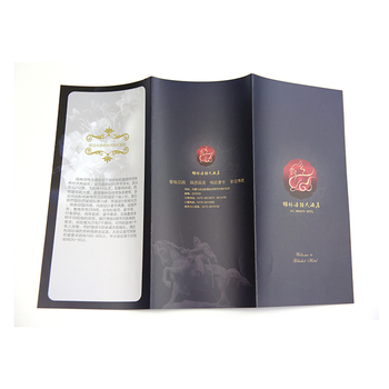 Best Selling Art Paper Leaflets Brochures Paper Flyer Printing With