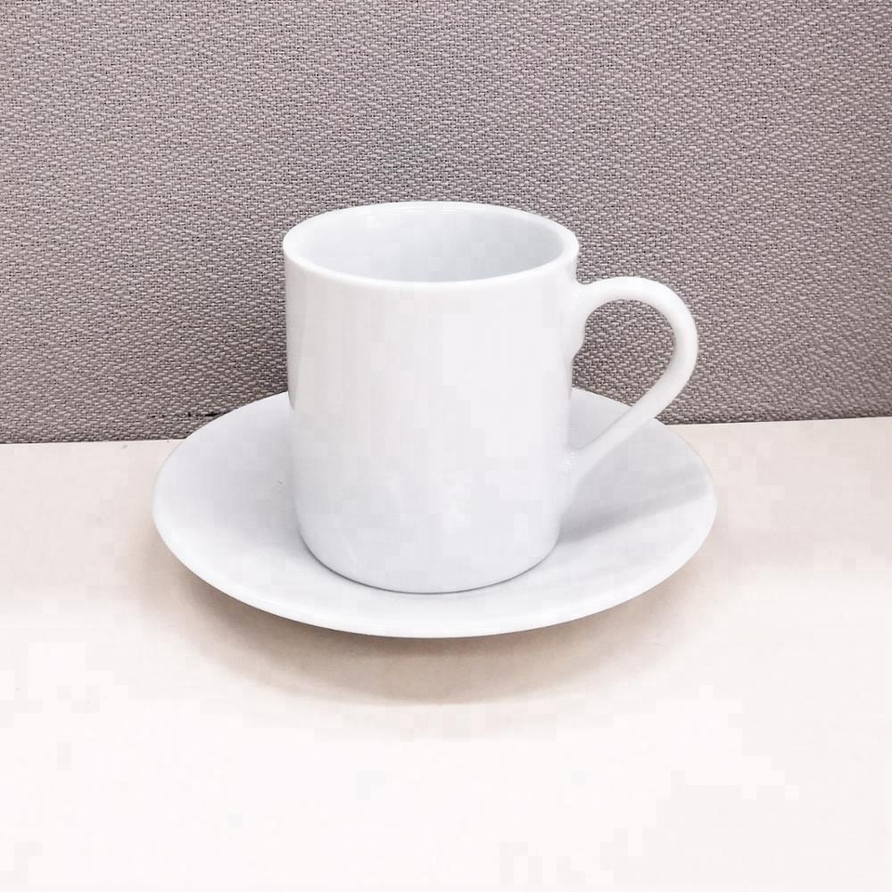 Small Coffee Cups And Saucers Branded Small White Ceramic Espresso Mug Set 100cc Coffee Cup With Saucer Buy Ceramic Espresso Cup Set Ceramic Espresso Cup Set Ceramic Espresso Cup