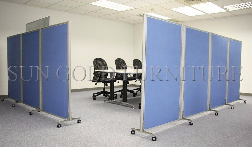 Popular Cheap Office Used Low Half Glass Wall Partitionsz