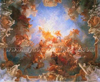 3d Wallpaper Price Per Square Foot Religious Oil Painting Wallpaper Murals For Church Bh8176