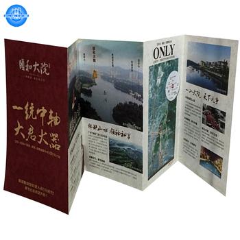 Custom Art Paper Accordion Fold Brochure Printing - Buy Accordion