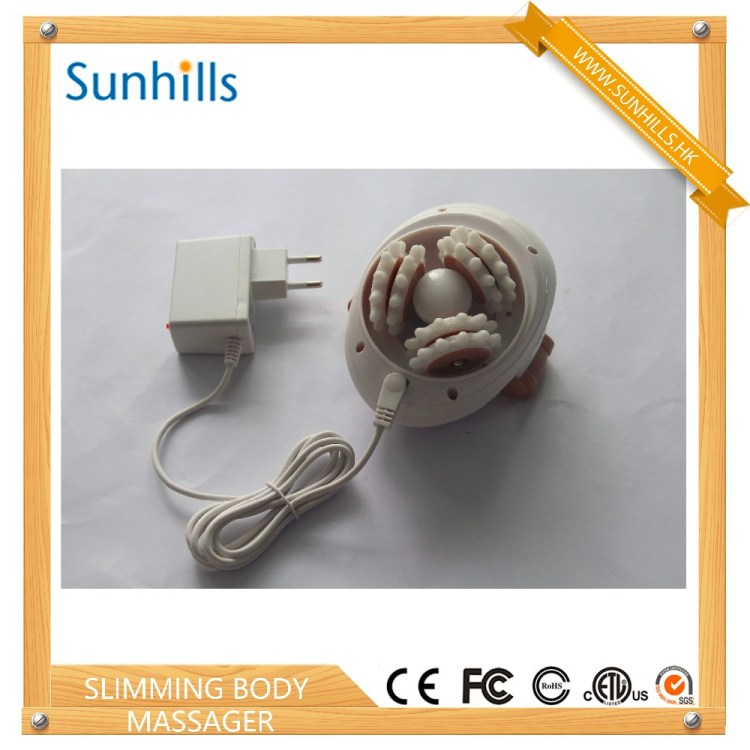 3D Electric Full Body Massager Roller Anti-cellulite Massaging Slimmer Device Fat Burner Spa Machine Loss Weight
