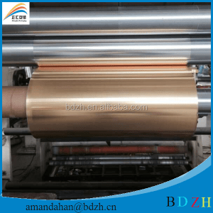 Manufacturer Lacquered HSL Full Colored Aluminium Foil
