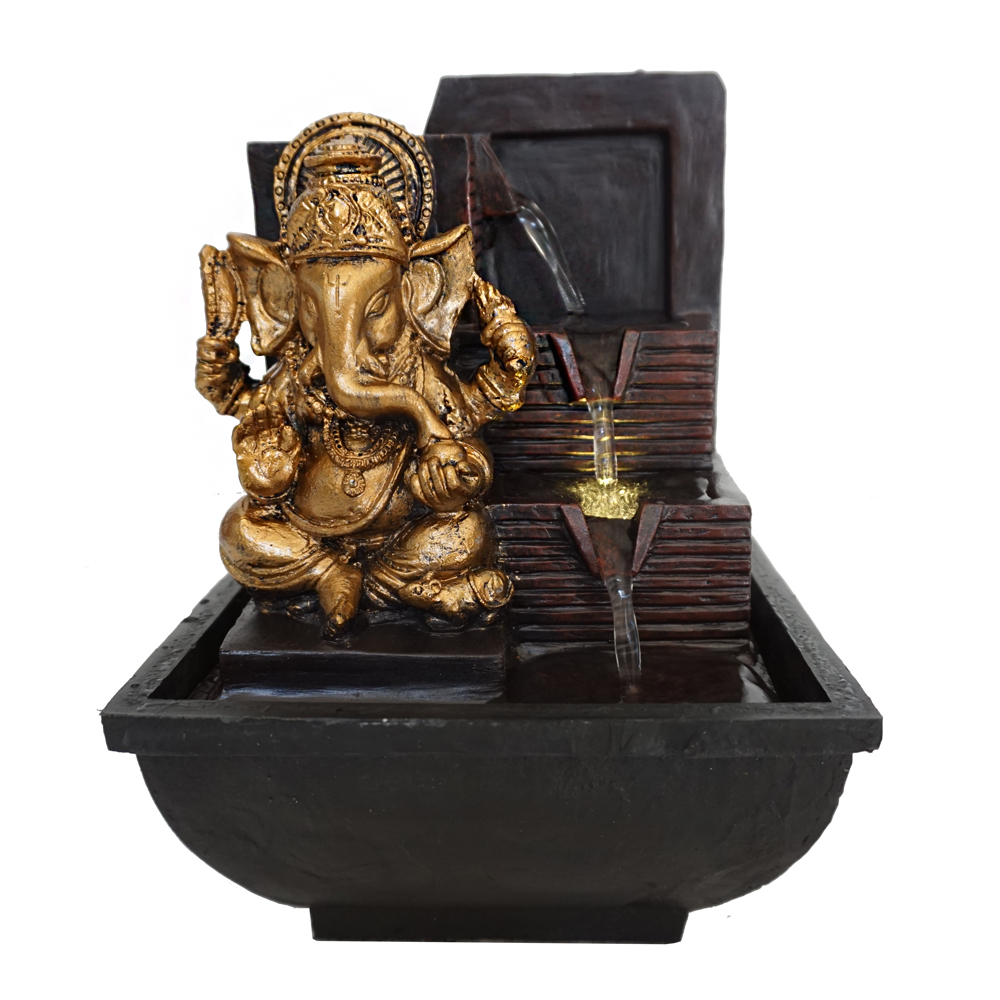 Fuente Decorativa Dios Hindú Fuente Decorativa Interior Estatuas Señor Ganesha Buy Estatuas Decorativas Interiores Fuente De Dios Hindú India Product On