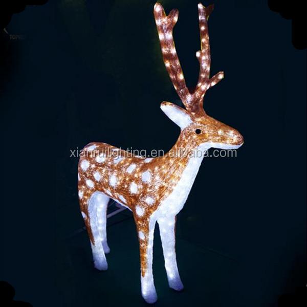 Plastic Outdoor Christmas Reindeer Decorations, Plastic Outdoor   Outdoor  Reindeer Christmas Decorations
