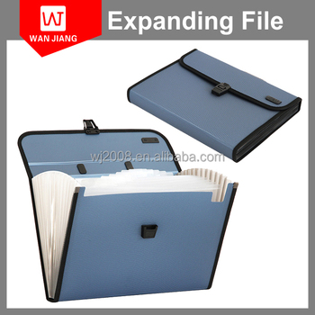 China Factory Cheap Plastic File Binder With Inserts A4 Clear