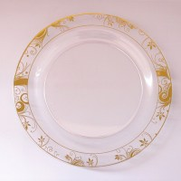 Disposable Round Plastic Plate For Wedding - Buy Dinner ...