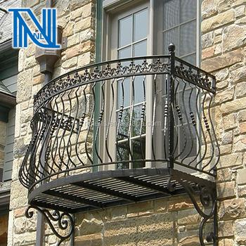Wrought Iron Window Balconies