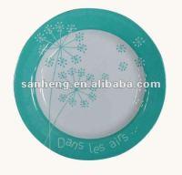 nice melamine dinner plate, View melamine round plate ...