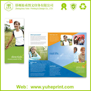 A4 A5 Mini Flyer Creative Deisng Factory Printing Advertising Sample