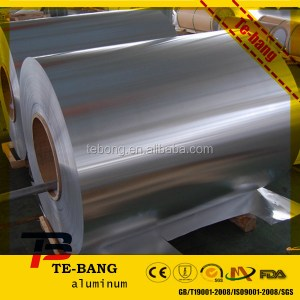 Soft temper Food packing aluminum foil recyclable