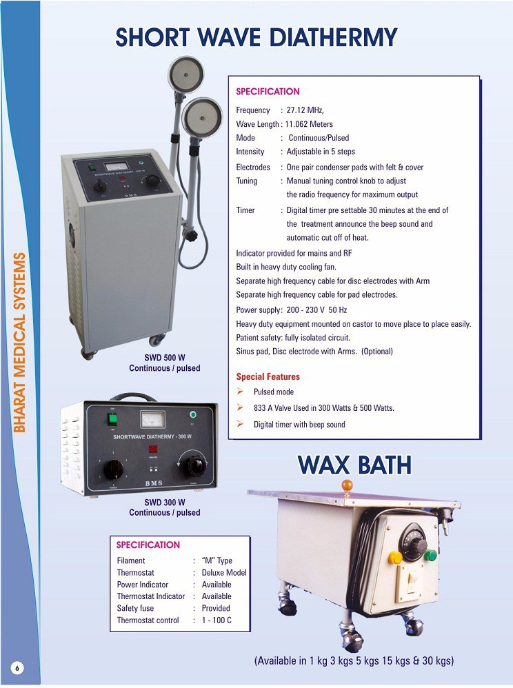 Short Wave Diathermy - Buy Swd,Short Wave Diathermy,Pulsed And