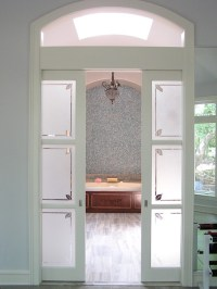 Wood Interior Sliding Frosted Glass Pocket Doors - Buy ...