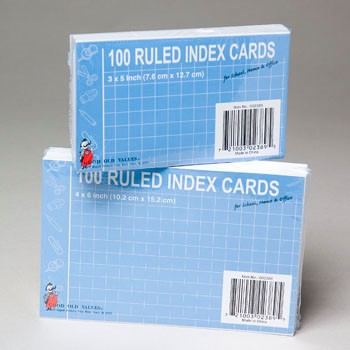 size index cards - Josemulinohouse - what size are notecards