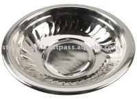 Stainless Steel Lotus Bowl / Mixing Bowl / Dollar Store ...