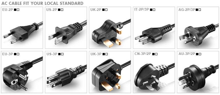 replacement hp laptop power adapter with short circuit protection
