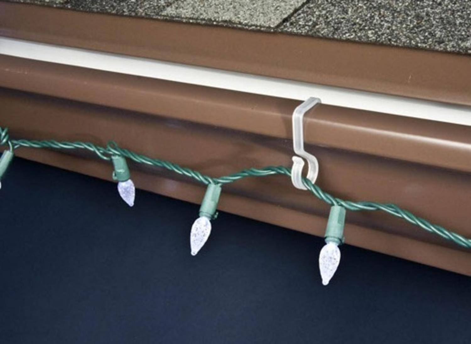 Hanging Hooks Buy 40ct Outdoor Gutter Hooks For Hanging Christmas Lights