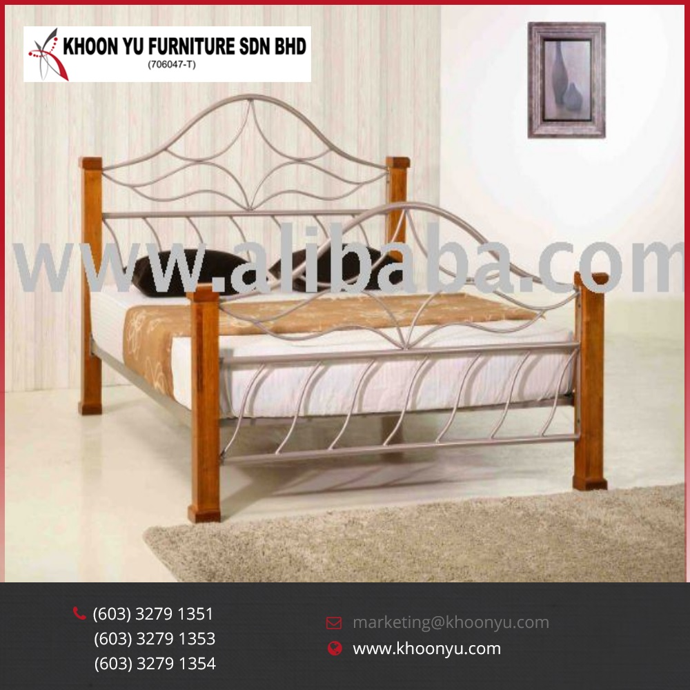 Emperor Bed Modern Bedroom Sets Emperor Double Beds Metal Furniture Folding Bed Made In Malaysia Buy Metal Furniture Metal Double Bed Metal Folding Bed Product