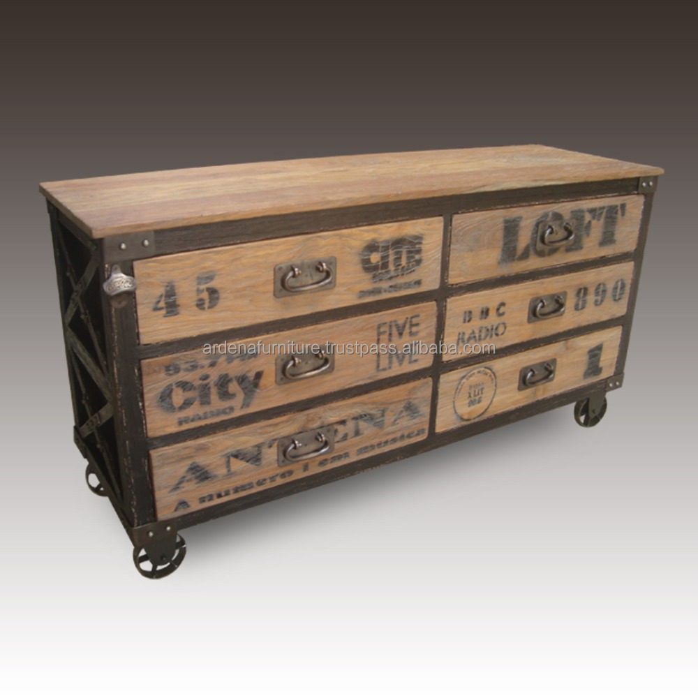Industrial Vintage Vintage Industrial Style Chest Of Drawers Indonesia Furniture Buy Vintage Cabinet Furniture Drawer Channel Indonesia Furniture Product On