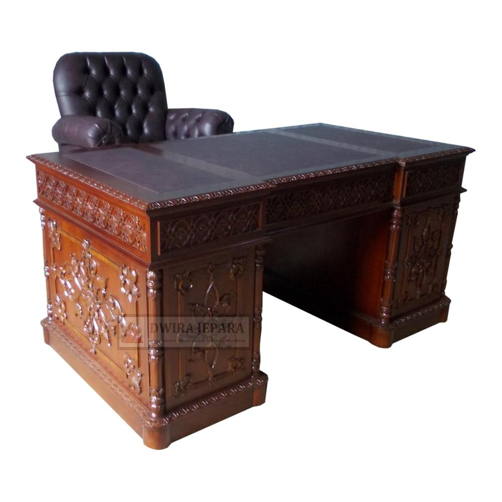 Mahogany Office Desk Mahogany Furniture Desk Carved Office Desk Furniture Indonesia Buy Desk Furniture Office Desk Furniture Classic Desk Furniture Product On