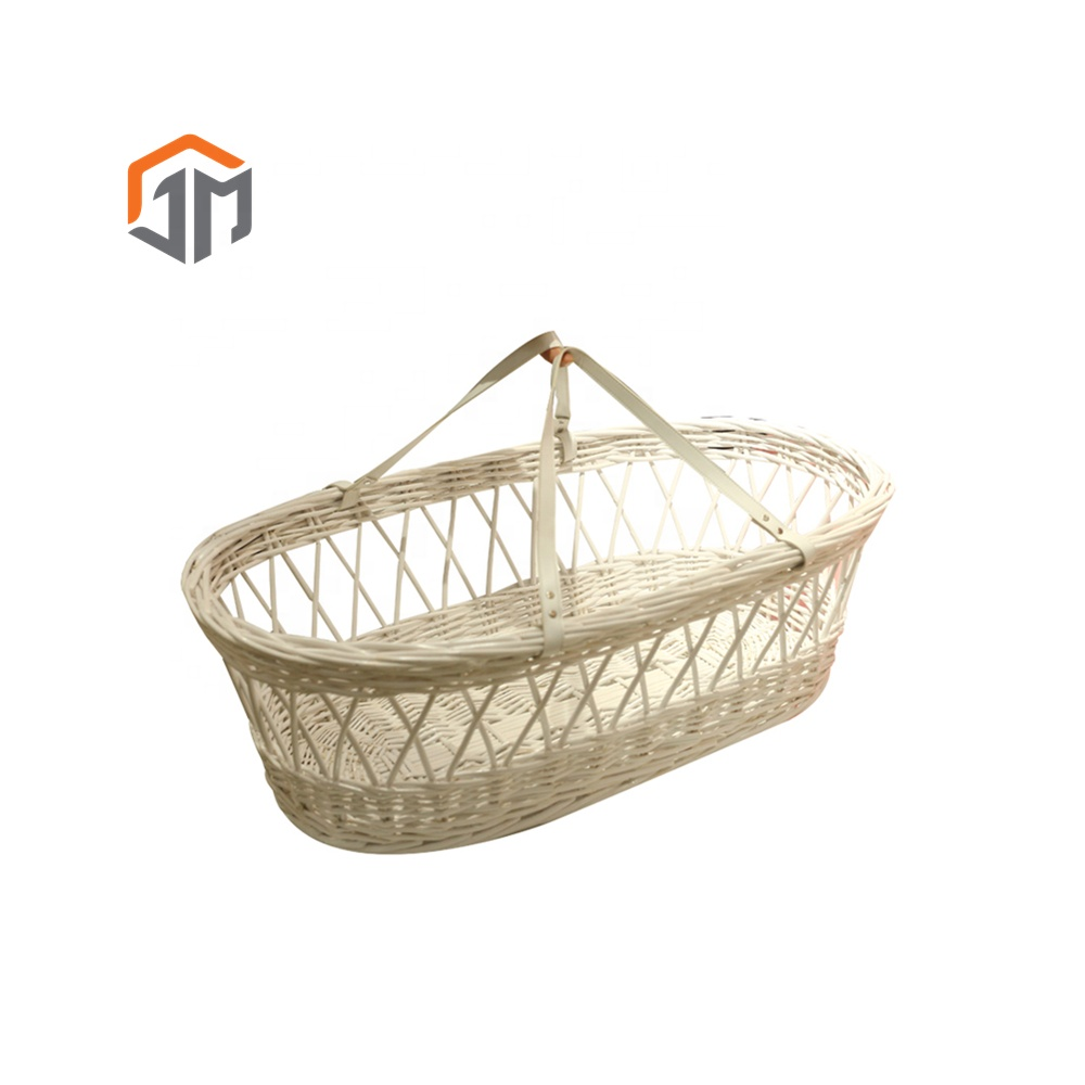 Baby Bassinet Moses Basket Wicker Bassinet Moses Basket Baby Crib Buy Baby Bassinet Basket Wicker Bassinet Basket Baby Crib Moses Baby Basket Bassinet Product On Alibaba
