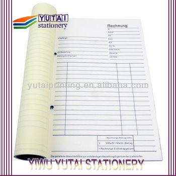 Vista Print Invoice Books And Bill Receipt Book Printing Supplier