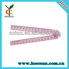 Made in China Plastic Colorful 30cm Folding Ruler