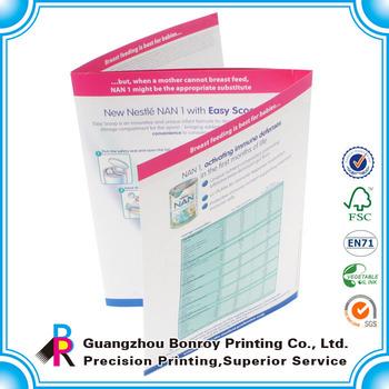 Custom Accordion Fold Folding Brochures Printing For Building - Buy - accordion fold brochure