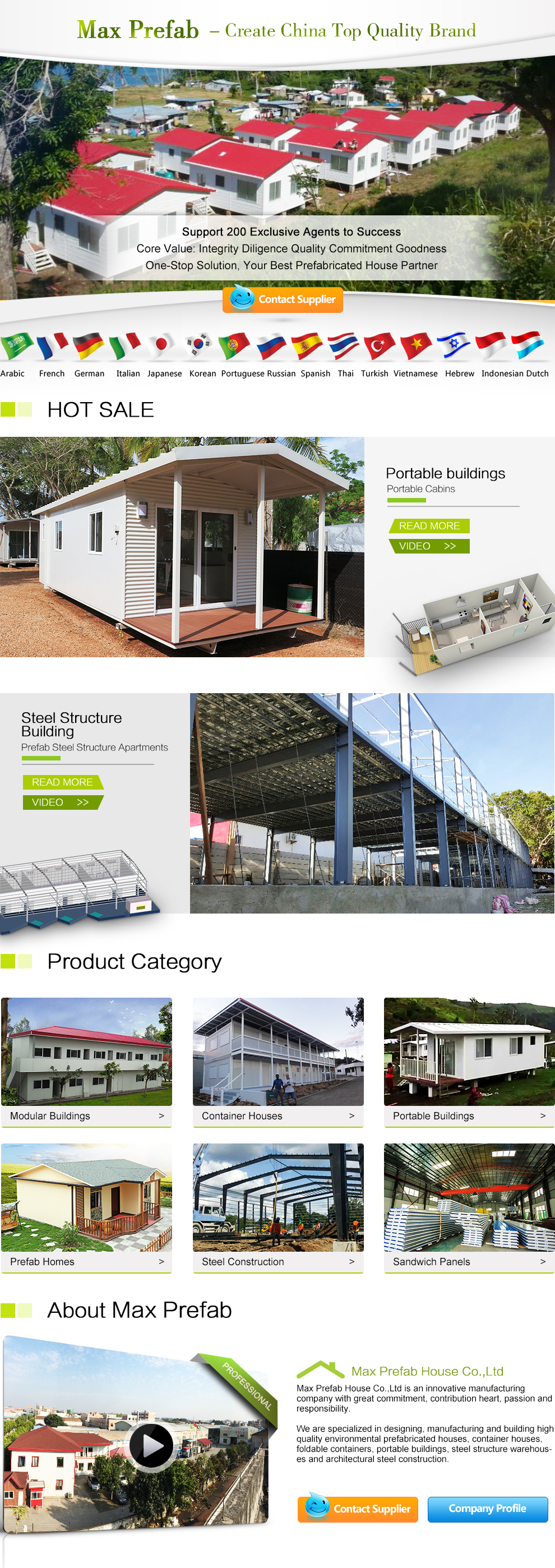 Container Haus Park Foshan Max Prefab House Co Ltd Prefabricated House Container