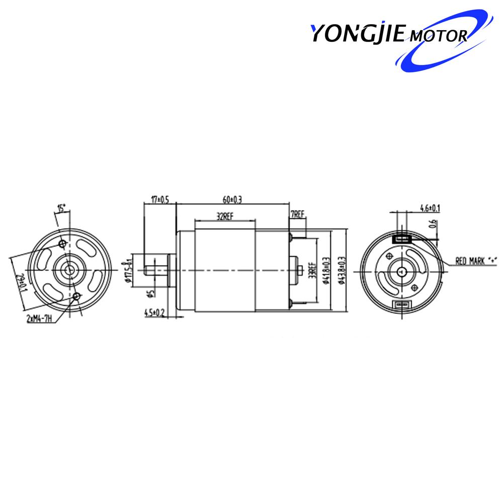 permanent magnet motor del Schaltplan