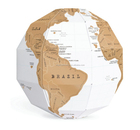 NEW Scratch Off World Map Globe 3D Scratch Globe World MapSG008