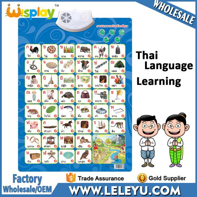 alphabet chart for children_Yuanwenjun - thai alphabet chart