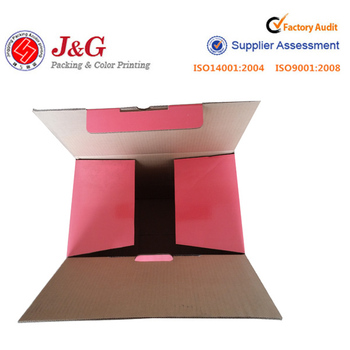Colored Moving Boxes With Strong Recycled Corrugated Board Material