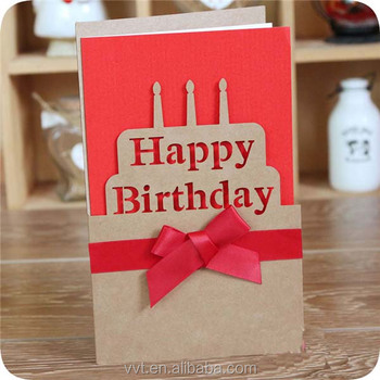 Happy Birthday Invitation Greeting Cards/sample Birthday Card Design